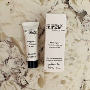 ✨🆕 Philosophy Anti-Wrinkle Miracle Primer